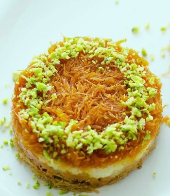 Home Made Kunafa from Easy Peasy