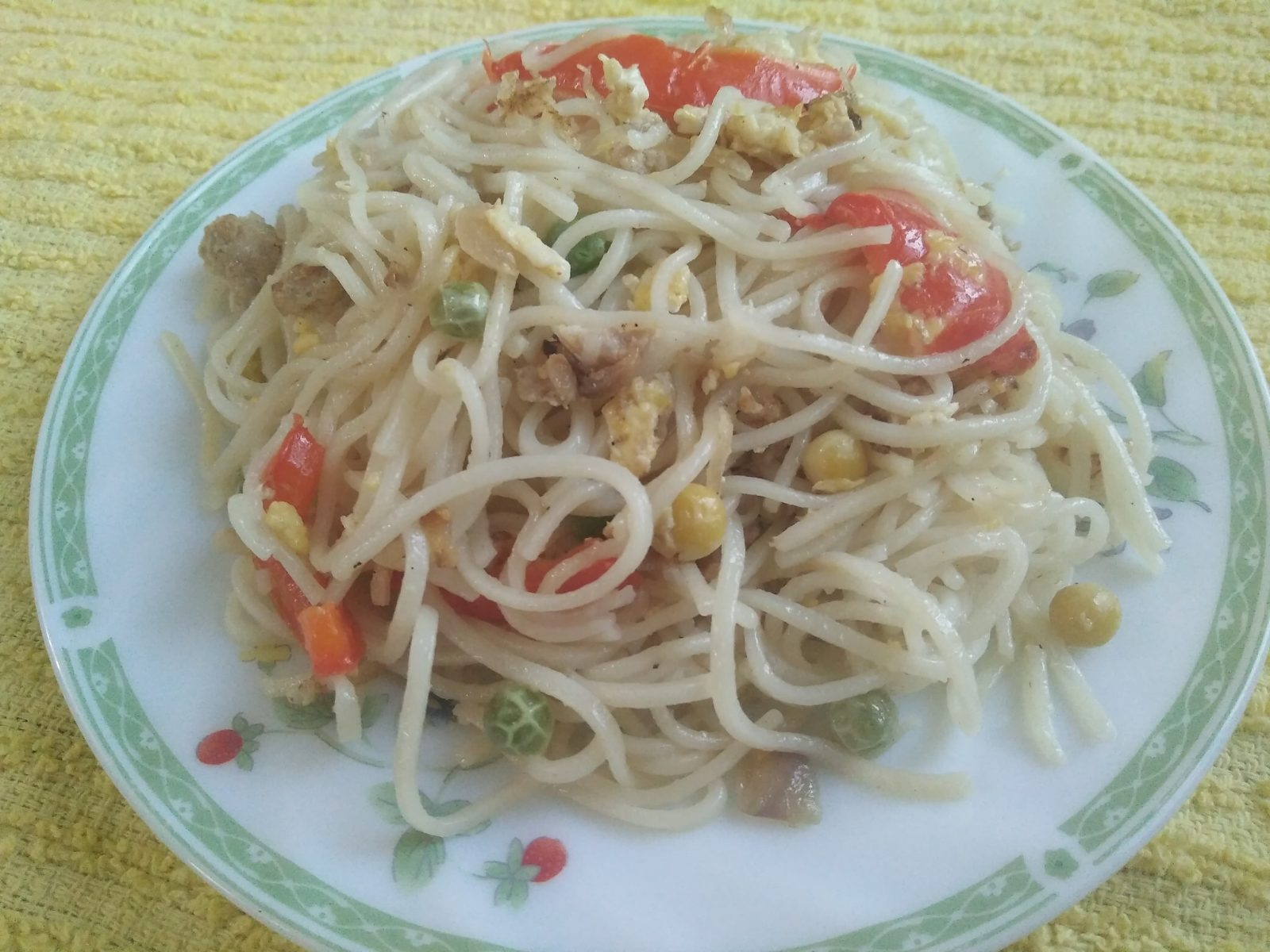 Noodles with Chicken & Vegetable from Shahin's Kitchen