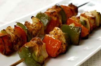 Chicken Shashlik from Food Gossips