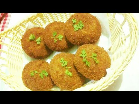 Kacha Kolar Cutlet from Food Gossips