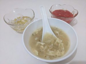 Chicken & Egg Soup from Nilima Rannaghor