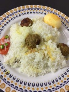 Moti Polao with Meatball  and Egg from TummyFull Kitchen