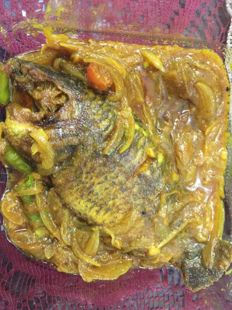 Koi Fish Dopiaza from TummyFull Kitchen