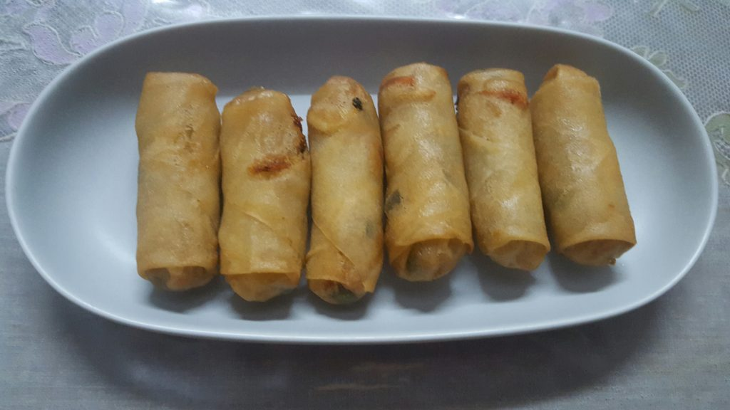 Vegetable Spring Roll from Mou's Kitchen