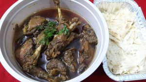 Duck Bhuna with Chita Ruti from Parijat Homefood