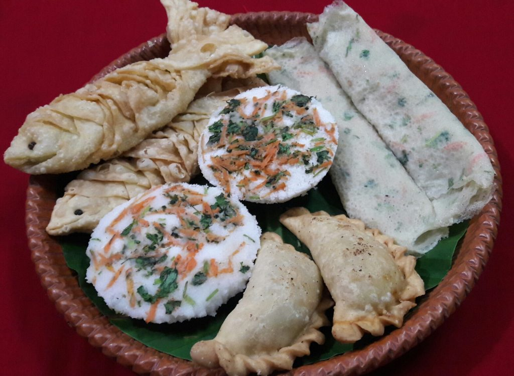 Pitha Platter from Parijat Homefood