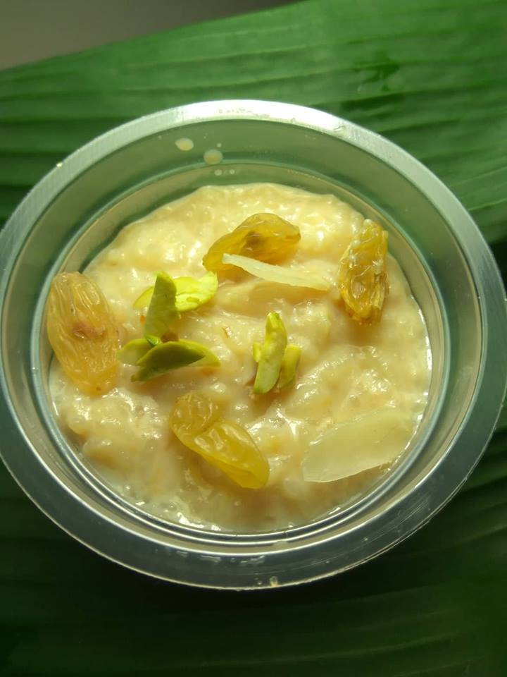 Shahi payesh/ Firni from The Cow Dairy