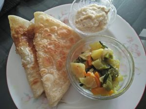 Parata with Vegetable