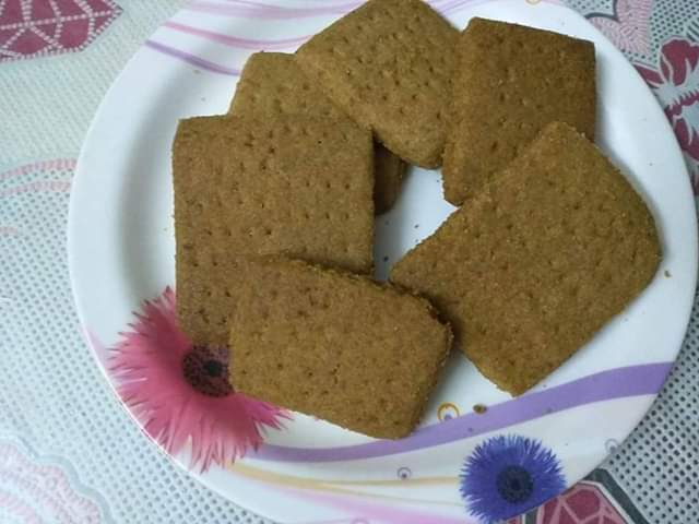 Ovaltin Biscuit from Nasrin's Kitchen