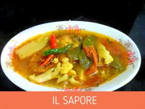 Rui Fish Curry with Seasonal Vegetables from Il Sapore