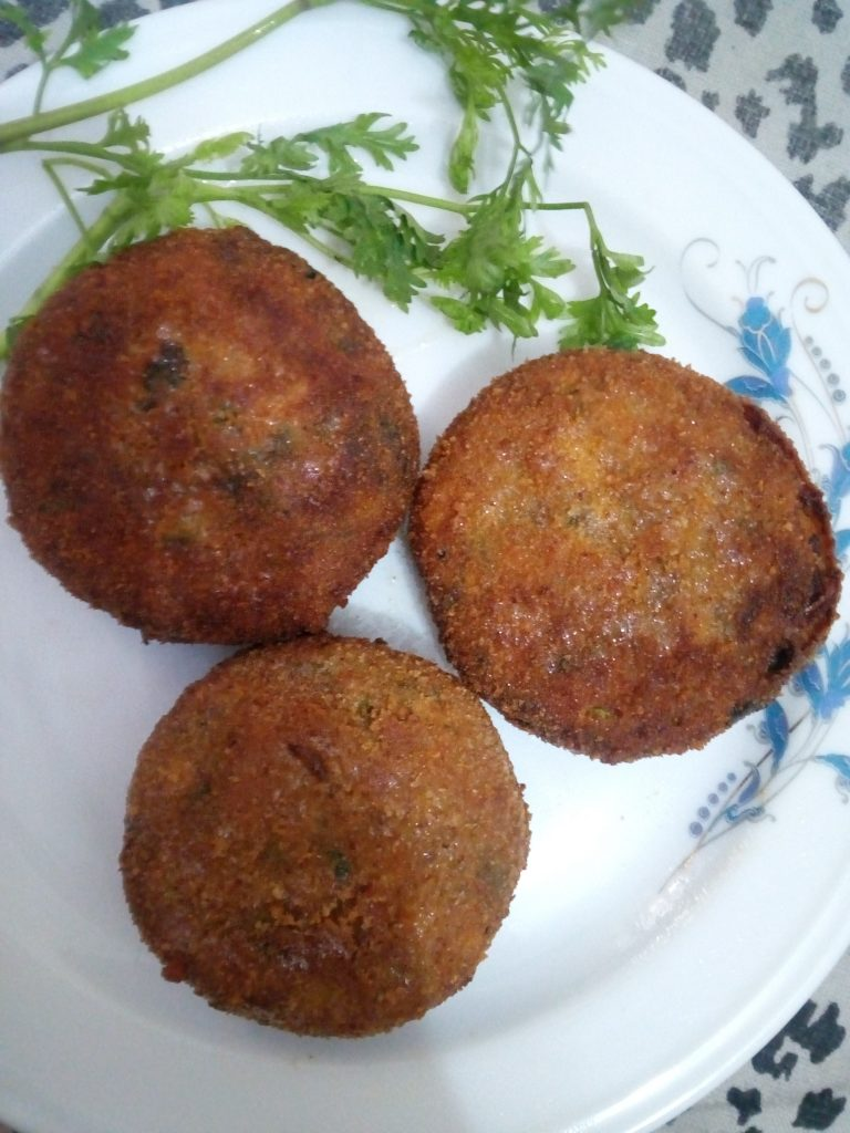 Chicken Cutlet from Mahbuba's Kitchen