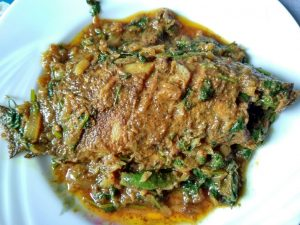 Koi Mach Bhuna from Dipti's Cookhouse