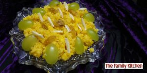 Sweet Egg Zarda from The Family Kitchen