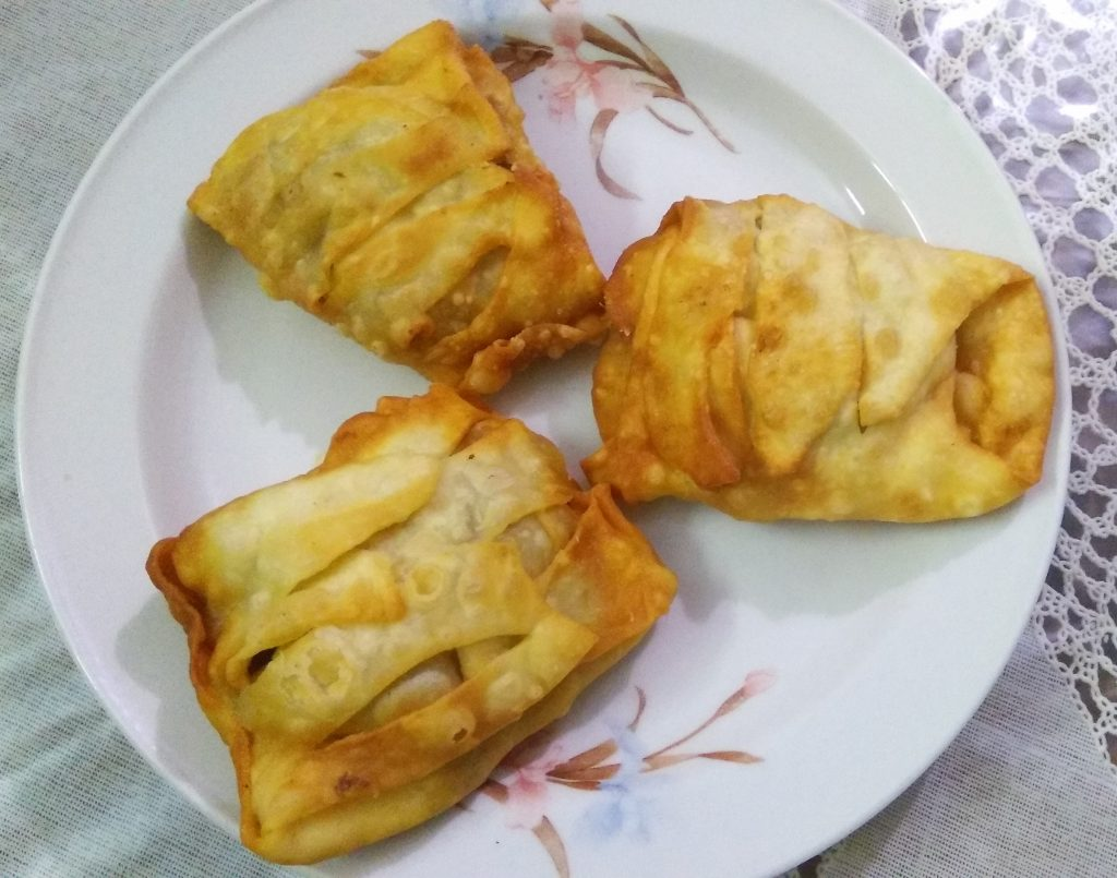 Chicken Pocket from Nuzhat's Dine