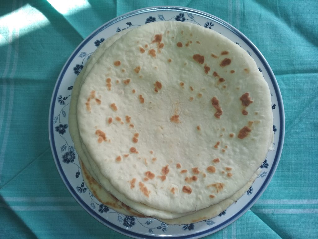 Naan Ruti from Dipti's Cookhouse