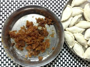 Narkel Puli Pitha from Shelley's Kitchen