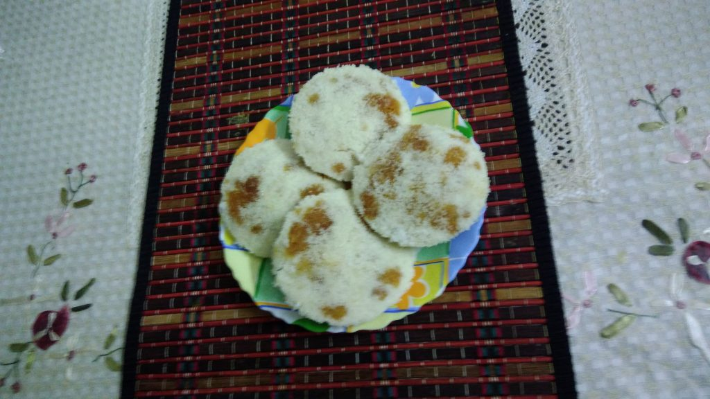 Vhapa Pitha from Angry Mom's Kitchen