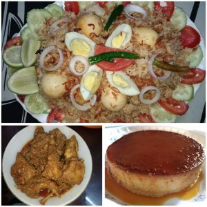 Special Combo Menu from Mohima's Kitchen