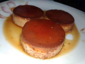 Sweet Caramel Cup pudding from Mohima's Kitchen