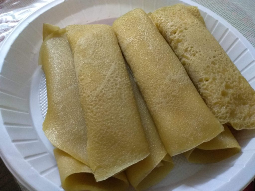 Patishapta Pitha from Nasrin's Kitchen