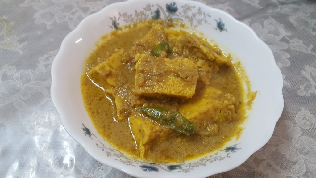 Vapa Dimer Kofta Curry from Mou's Kitchen