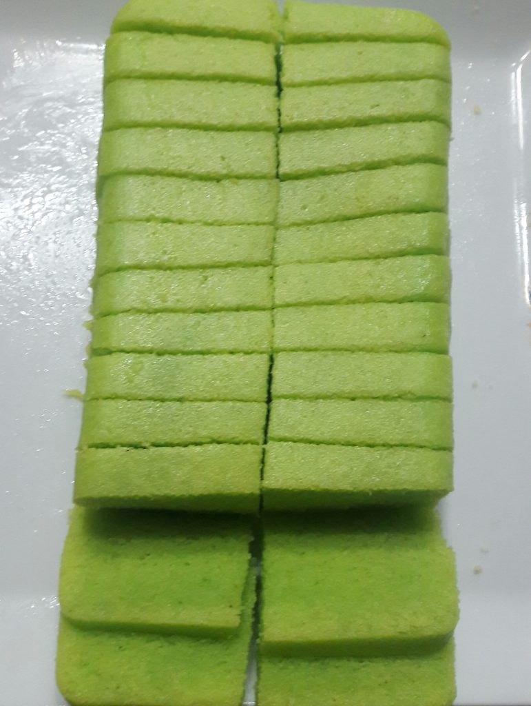 Green Apple Aflatun Cake from Lipi's Kitchen