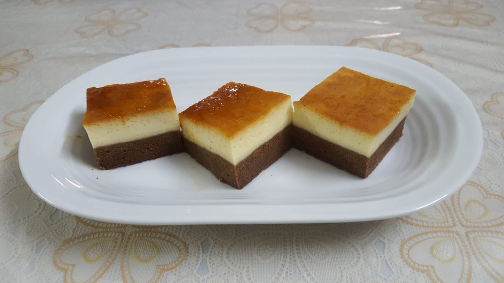 Chocoflan from Mou's Kitchen