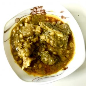 Buter Daal with Gorur Mathar Mangsho