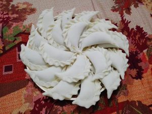 Frozen Narikel Puli Pitha from Papri's Dream
