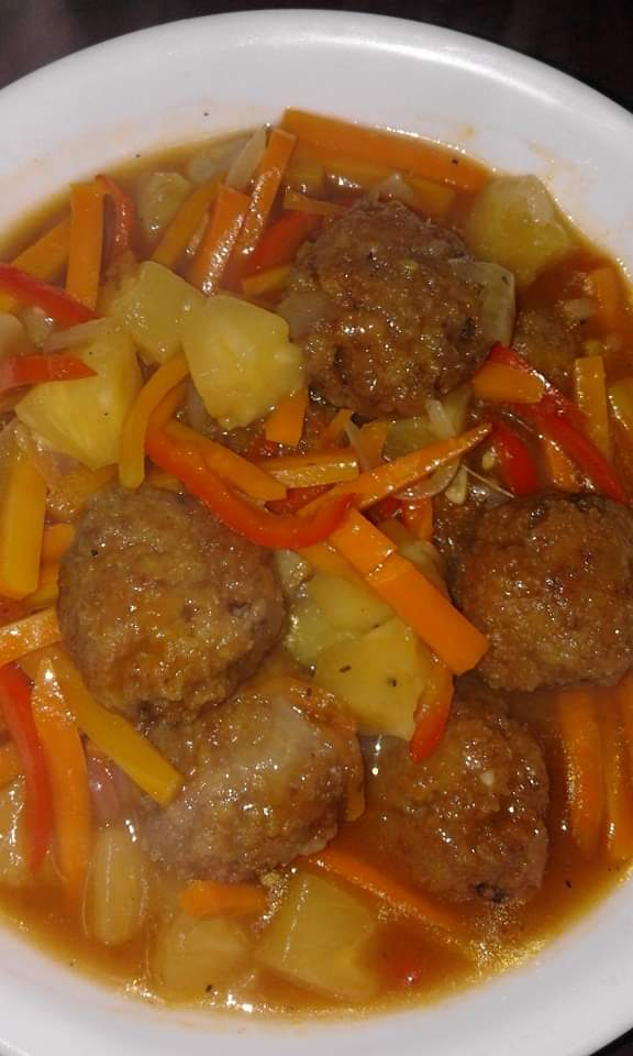 Meat Ball Curry with Vegetable from Papri's Dream