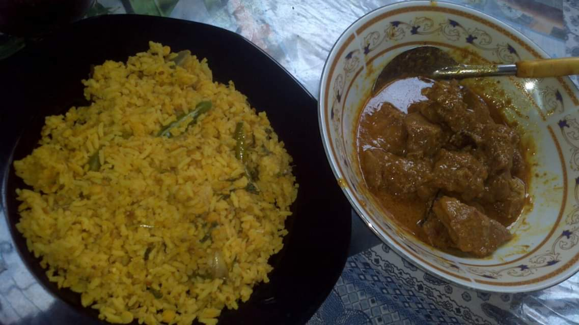 Khichuri with Beef Curry from Papri's Dream