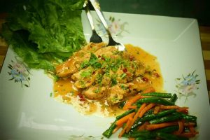 Lemon Chicken from Papri's Dream