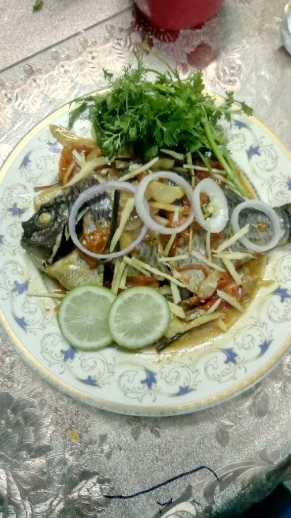 Steam Whole Fish from Homemade Food Factory