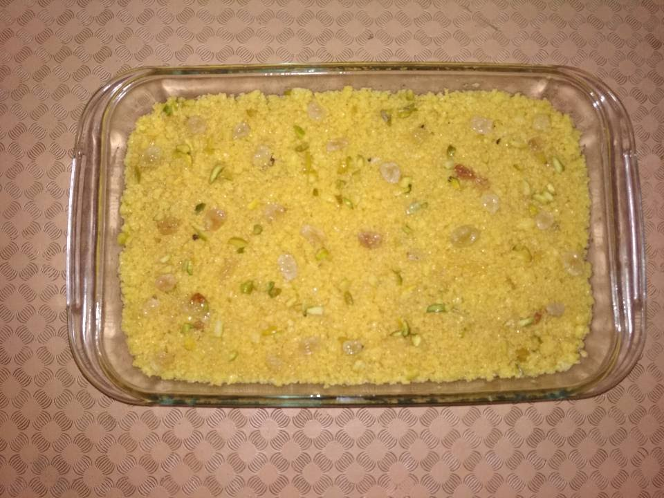 Special Egg Halwa from Dipti's Cookhouse