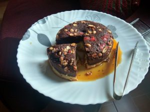 Peanut Chocolate Cake Pudding from Ahh Vulbona