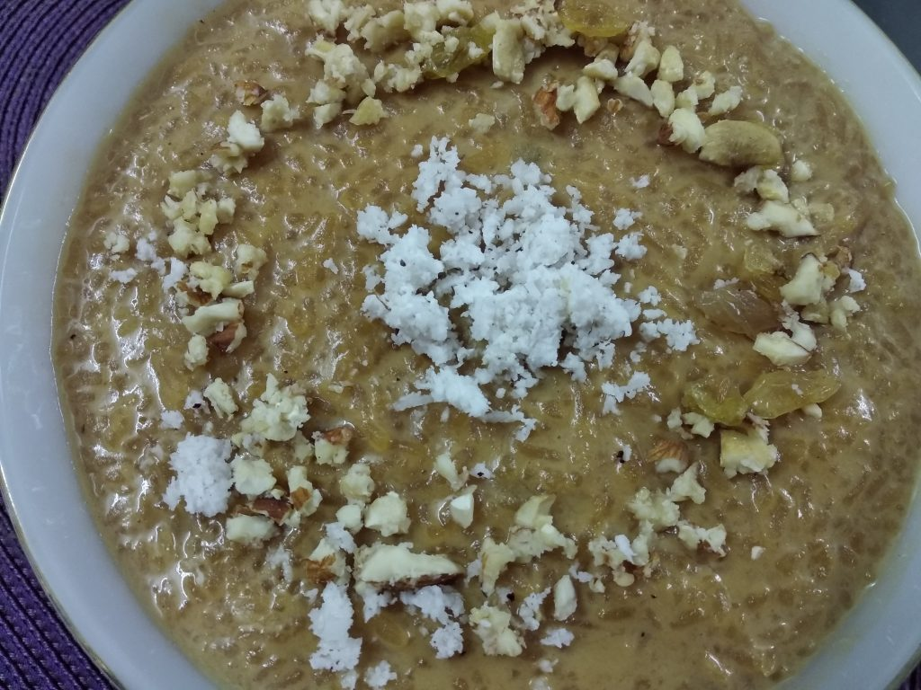 Gurer Kheer from Mohima's Kitchen