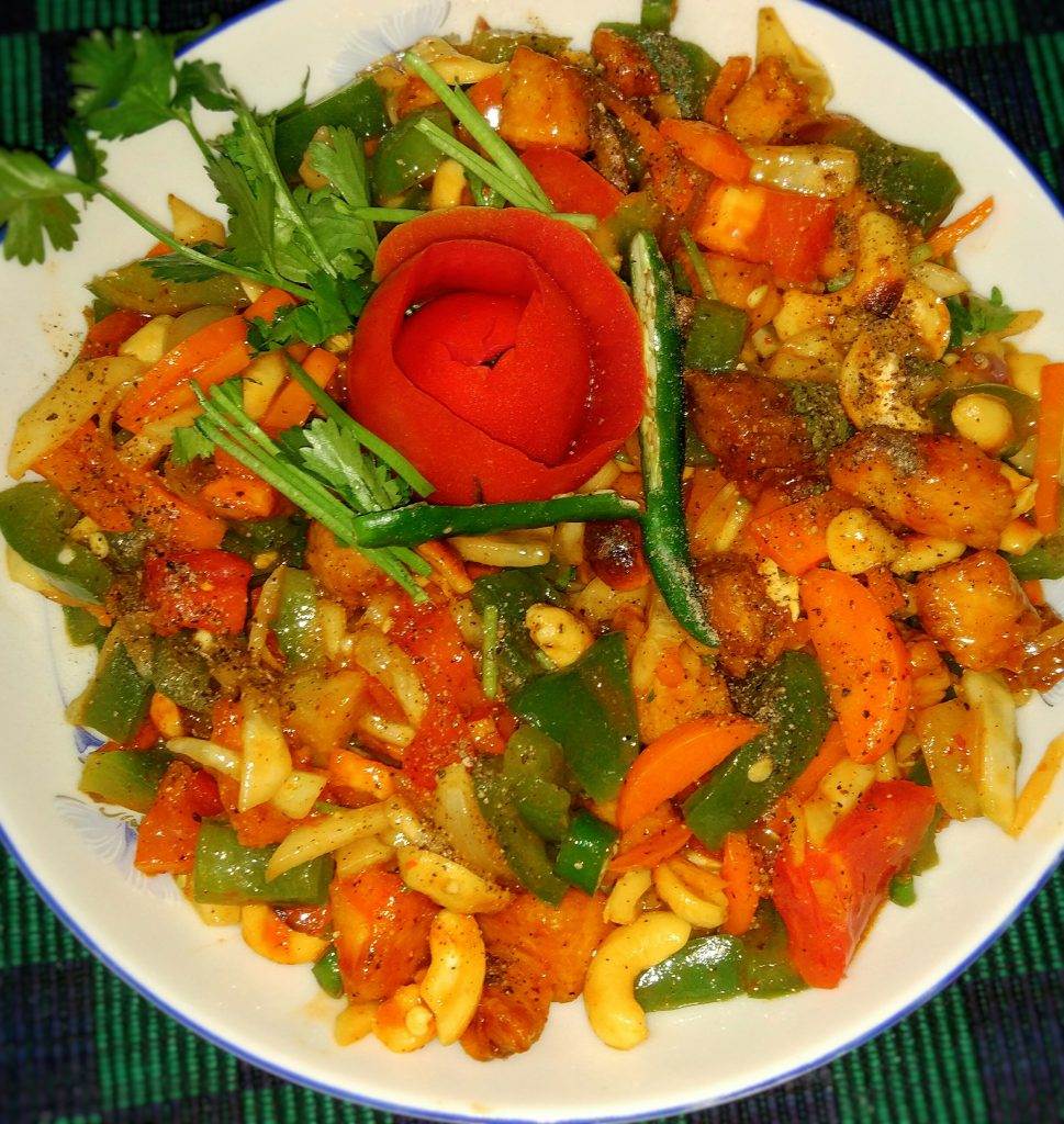 Cashew Nut Salad ( Special) from Tahira's Cookhouse