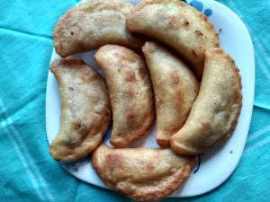 Jhal Puli Pitha from Dipti's Cookhouse