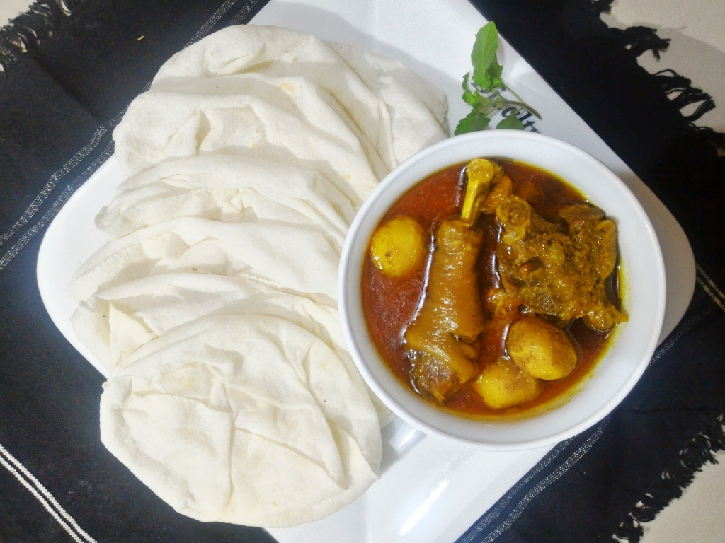 Ruti Pitha with Morogh from Roshona Bilash