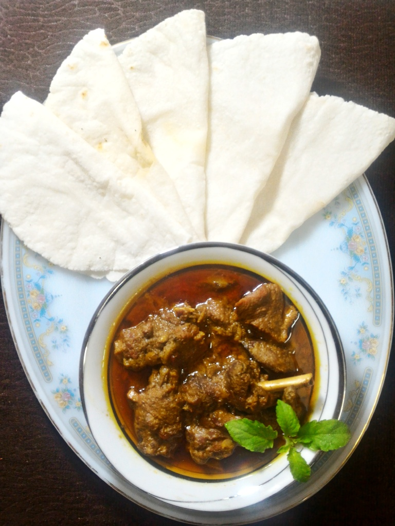 Duck Curry with Chaler Ruti from Roshona Bilash