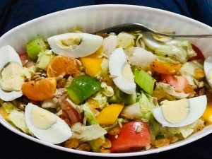 Fruit and Veggie Salad from Easy Peasy