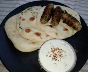 Chicken Muthi Kabab with Nan from Mohima's Kitchen