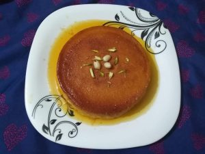 Caramel Pudding from It's Mamma's Kitchen