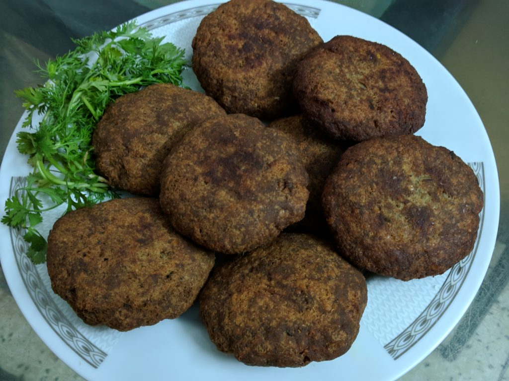 Delicious Shami Kabab from Moni's Heshel