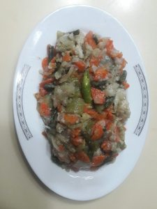 Mixed Vegetable from Lipi's Kitchen