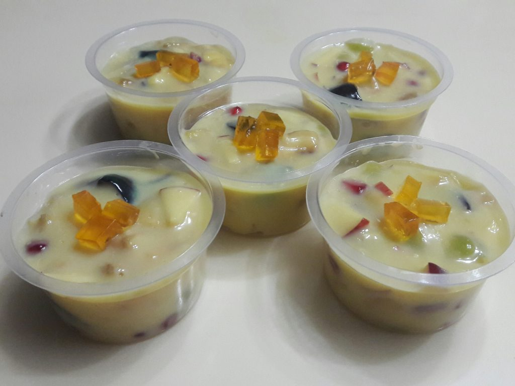 Fruits Custard from Lipi's Kitchen