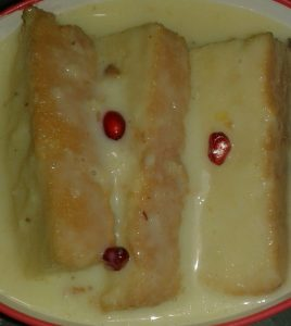 Custard Cake from My Dream