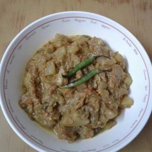 Bottle Gourd Curry (Lau Curry) from Munmun's kitchen