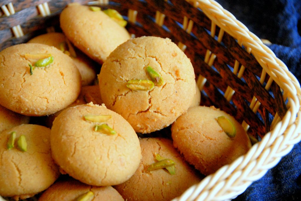 Nankhatai Biscuits from Meherem's Bakery