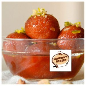 Soft Gulab Jamun Sweets - 1/2 kg from Meherem's Bakery